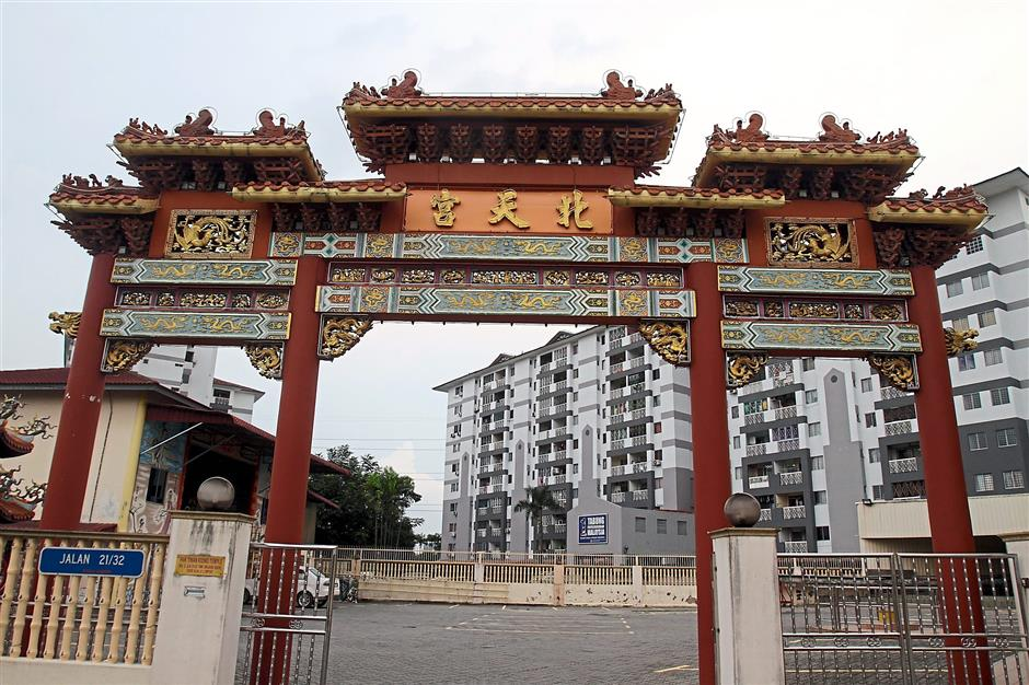 Crowd-pullers: The Nine Emperor Gods' Temple is one of the many Chinese temples in the village.