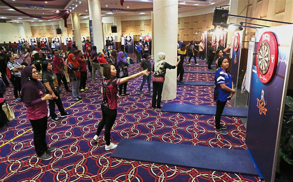 The Selangor Open 2018 attracted more than 450 participants.