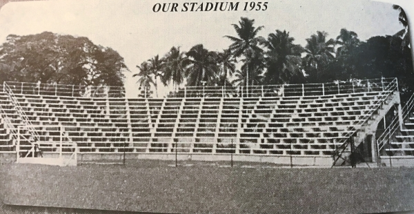The original TPCA grounds was also home to the first and only private stadium in the country.