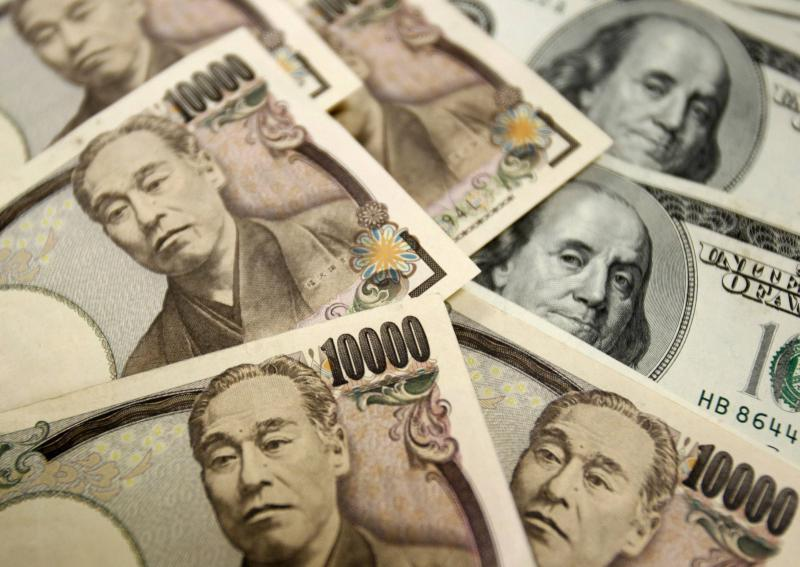 The yen remained strong against the dollar even though Tokyo lost 0.97% by the break on Friday, Oct 25, as did Hong Kong which slid 0.14%, Seoul by 0.73%, Shanghai by 0.31% - Reuters Photo.
