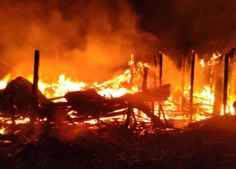 Three early morning fires break out three hours apart in northern