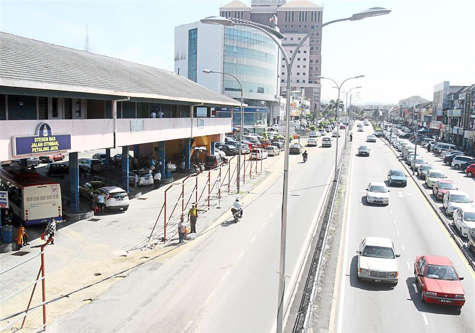 Busy no more: The Petaling Jaya Old Town bus terminal was once a bustling transportation hub.