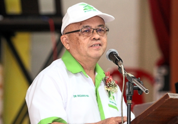 Ng says the Perak government needs to do more for the environment.
