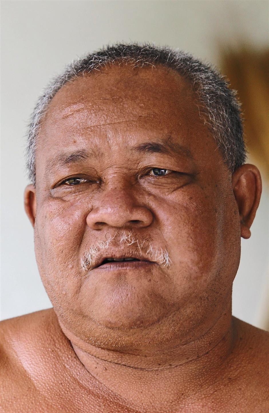 Retiree Bah Daf Tan,56