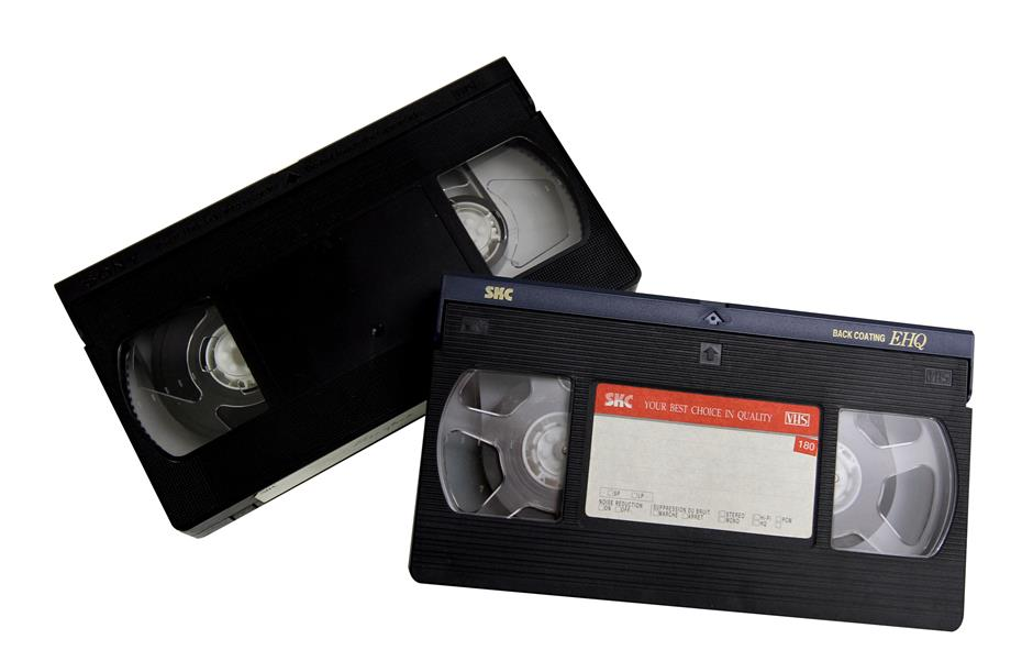 VHS tapes have gone away with our past, in the light of the popularity of digital video formats.