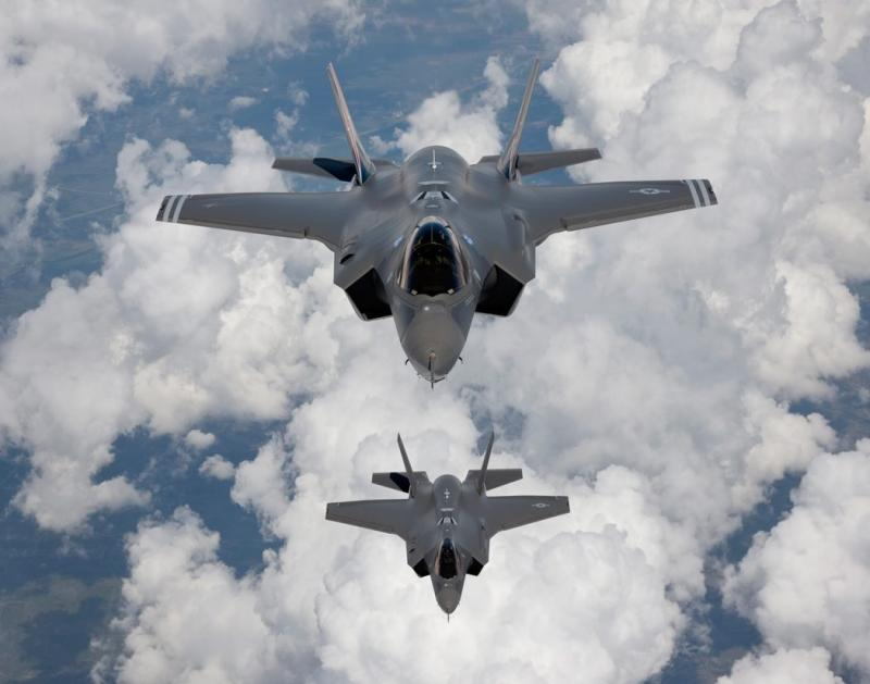 The Lockheed Martin F-35A is on the shopping list of Japan and Singapore. Arms spending in Asia is spiking, but the US military budget still outstrips the next 10 countries\'s budget combined - EPA Photo.