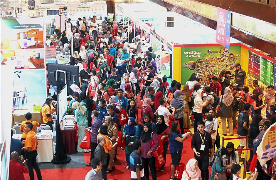 About 110,000 visitors checked out MATTA Fair for tour and travel packages.