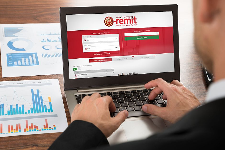 eRemit promises ease of doing business, effective financial transactions and secure money transfers - all at competitive rates.