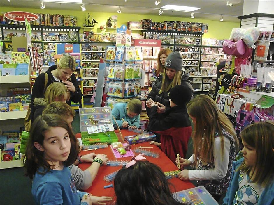 Craft craze: Rainbow Loom was a surprise hit among children and tweens.