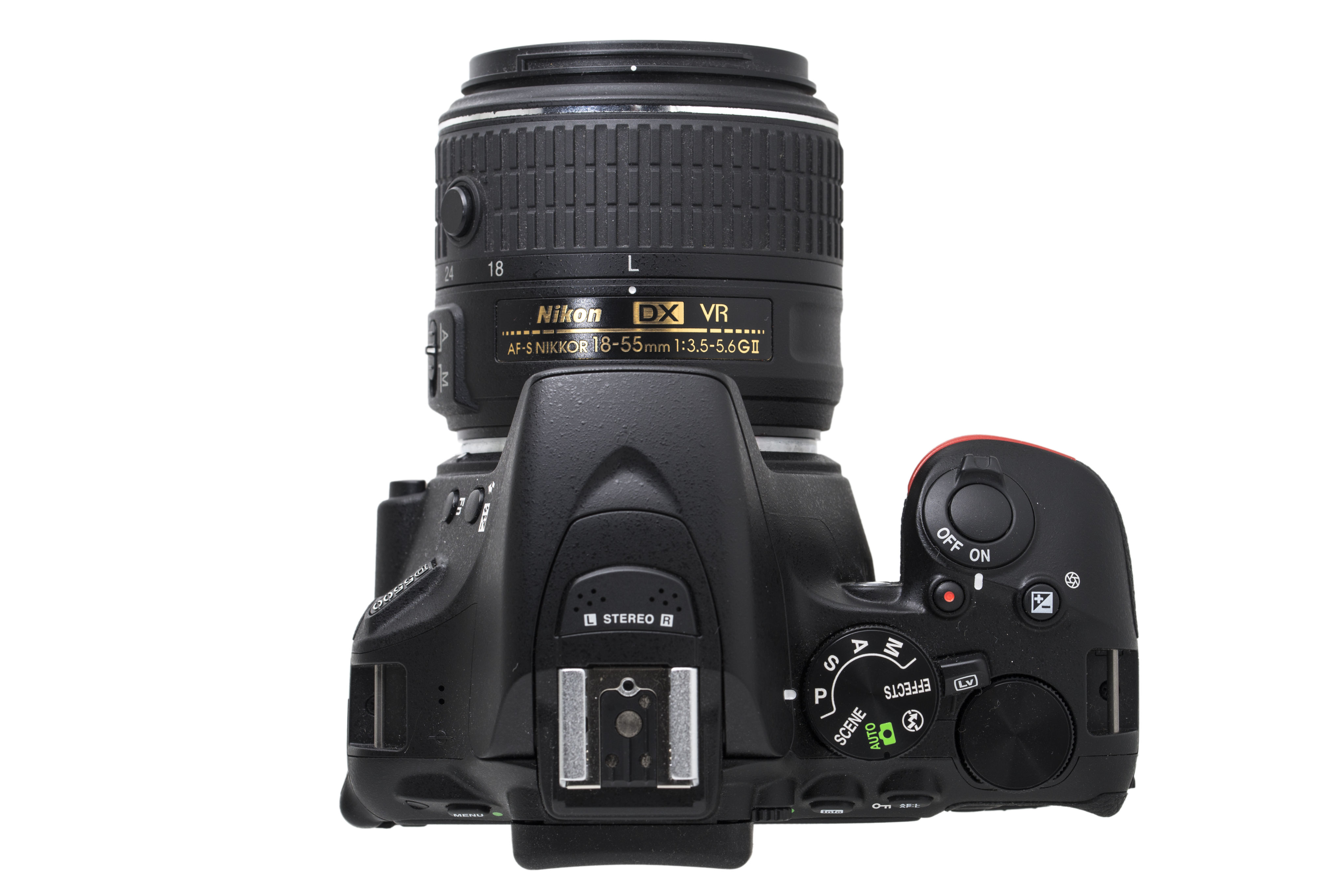 Similar but different: the control layout of the Nikon D5500 will be familiar to users of previous D5000 series cameras but its still not quite the same as on any other Nikon DSLR