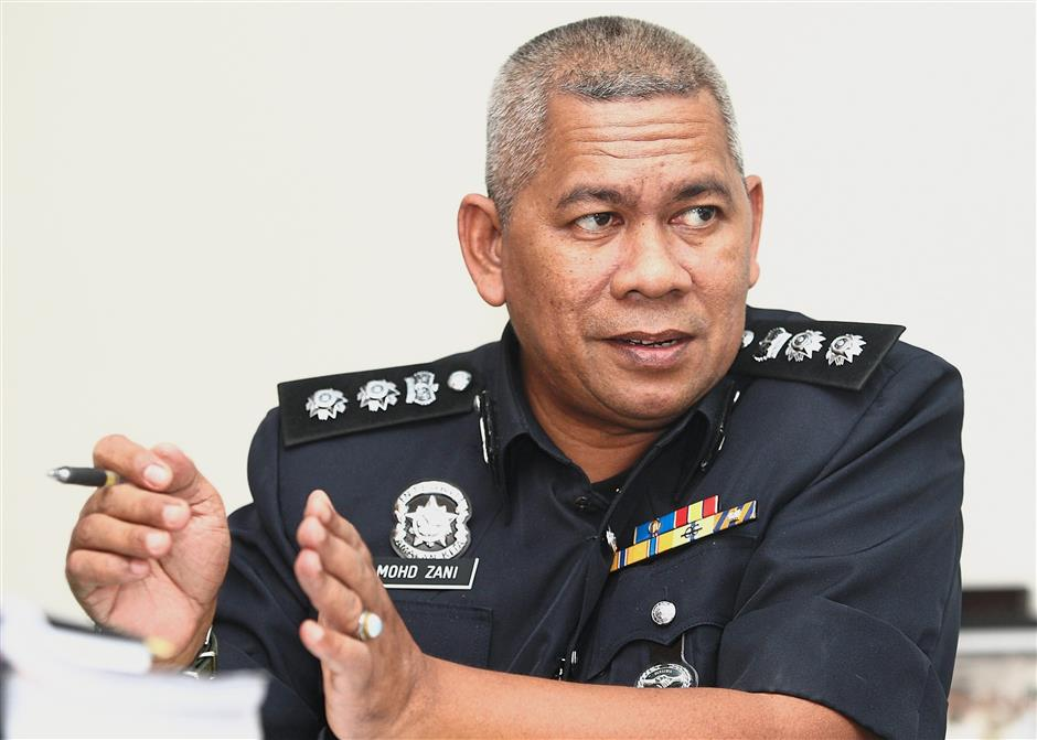 ACP Mohd Zani says there is an average of 40 accidents a month along the loop.