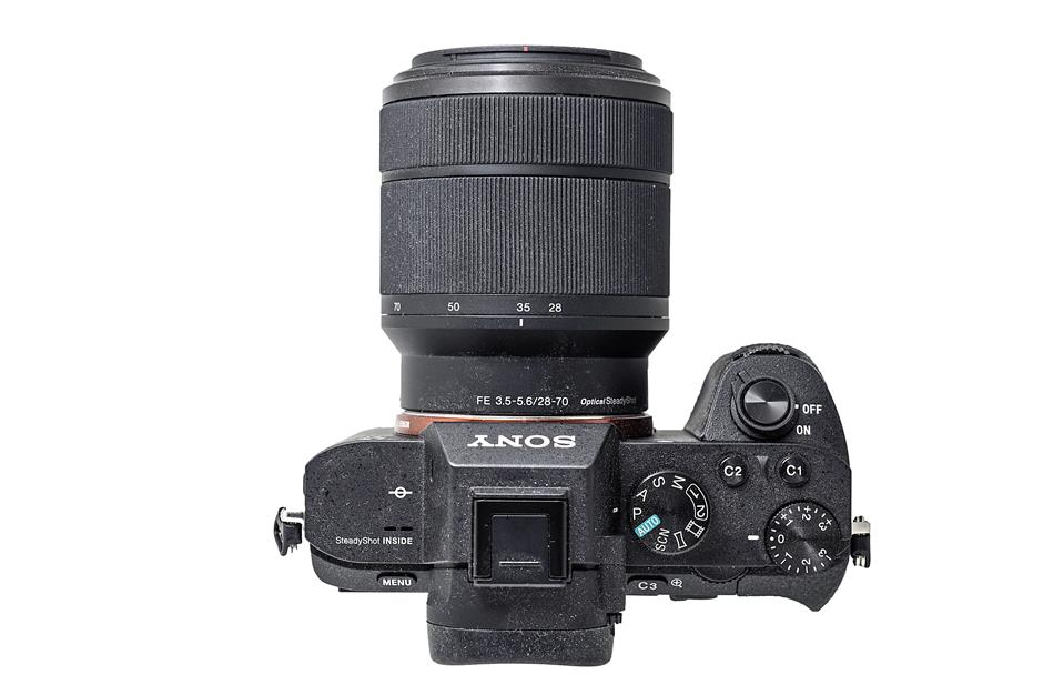 Despite being a full-frame camera, the A7 II is not much bigger than other mirrorless cameras.