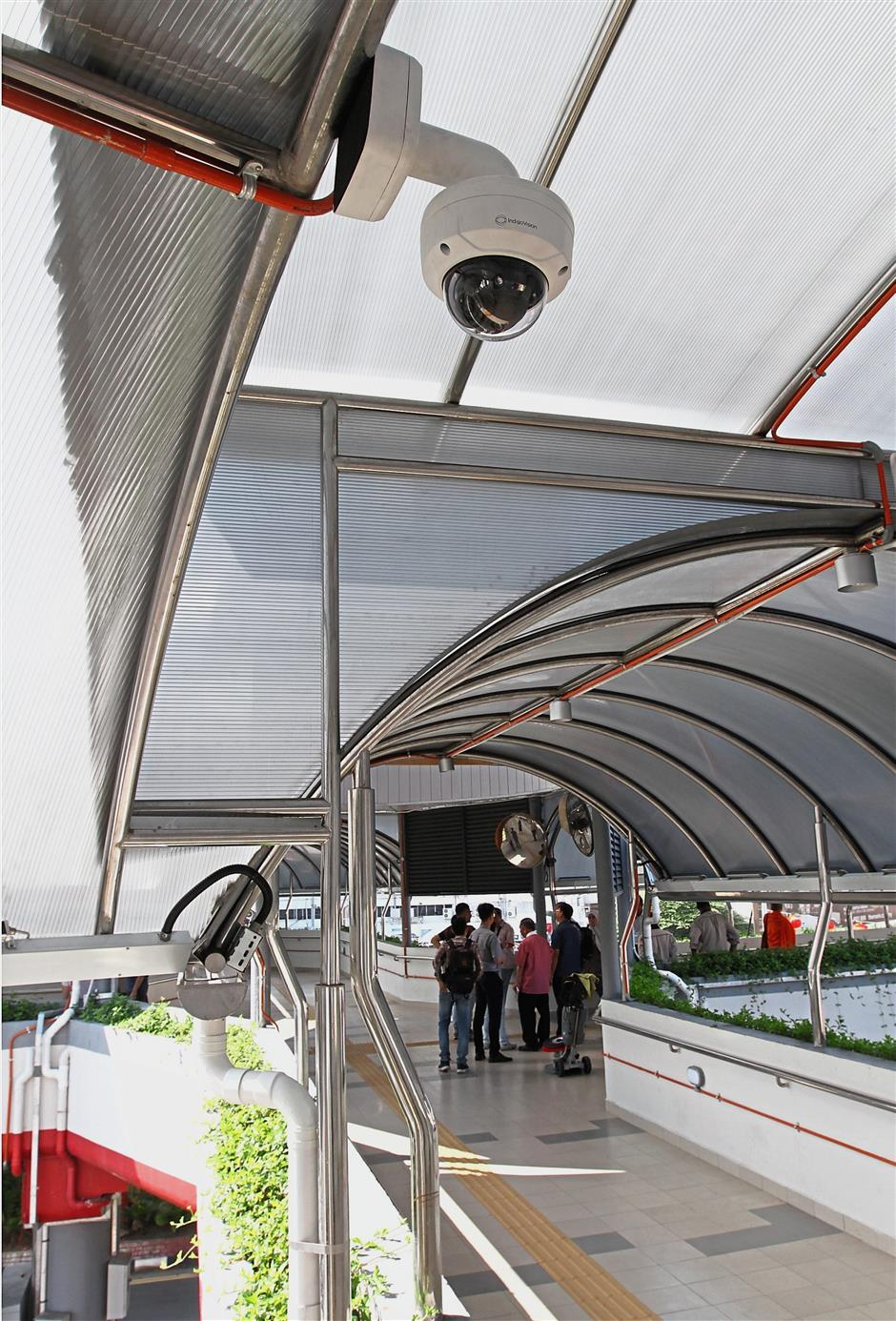 Eleven CCTVs have been installed on the Octopus Bridge to ensure the safety of the pedestrians.