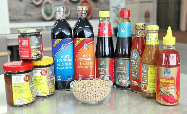 Bidor Kwong Heng's flagship Angel brand offers a wide range of products, including soy sauce, bean paste, oyster sauce, plum sauce, hoisin sauce, sesame oil, sriracha and chilli sauce.