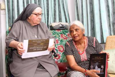 Sister Enda and author of the biography, Dr Nesamalar Chitravelu, had many meetings and discussions before the book finally materialised.
