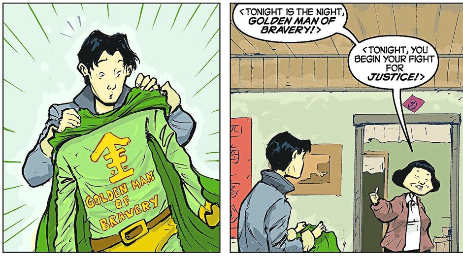Hank Chus mom is the main reason he became a superhero. No, really.