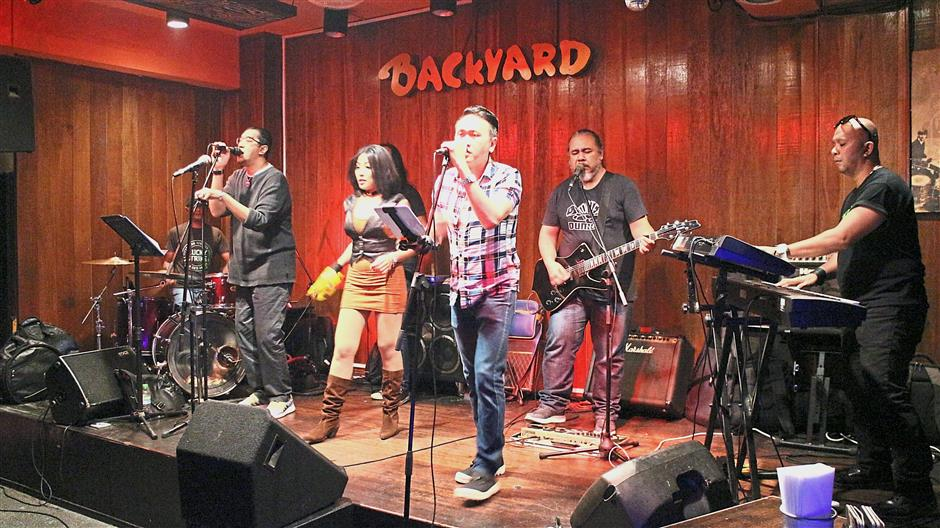 Get into the groove with NRG as they show just what a tight band can pull off every Thursday in Backyard.