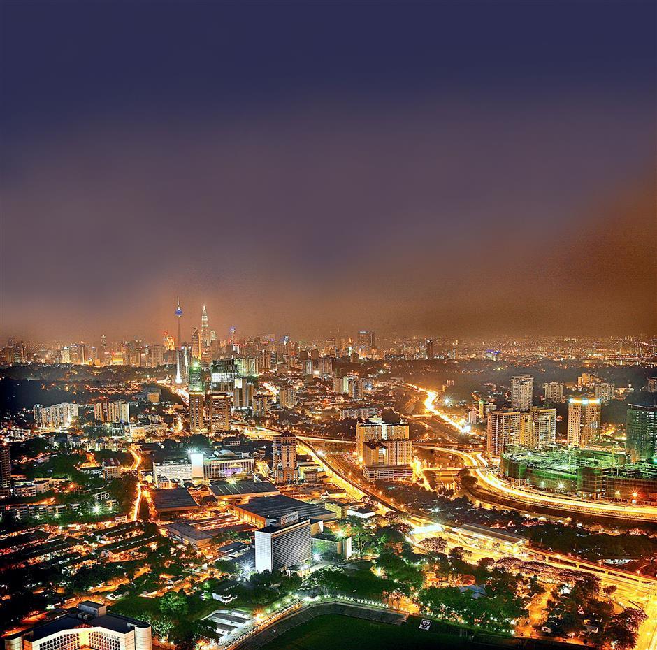 Kuala Lumpur at night. – Filepic