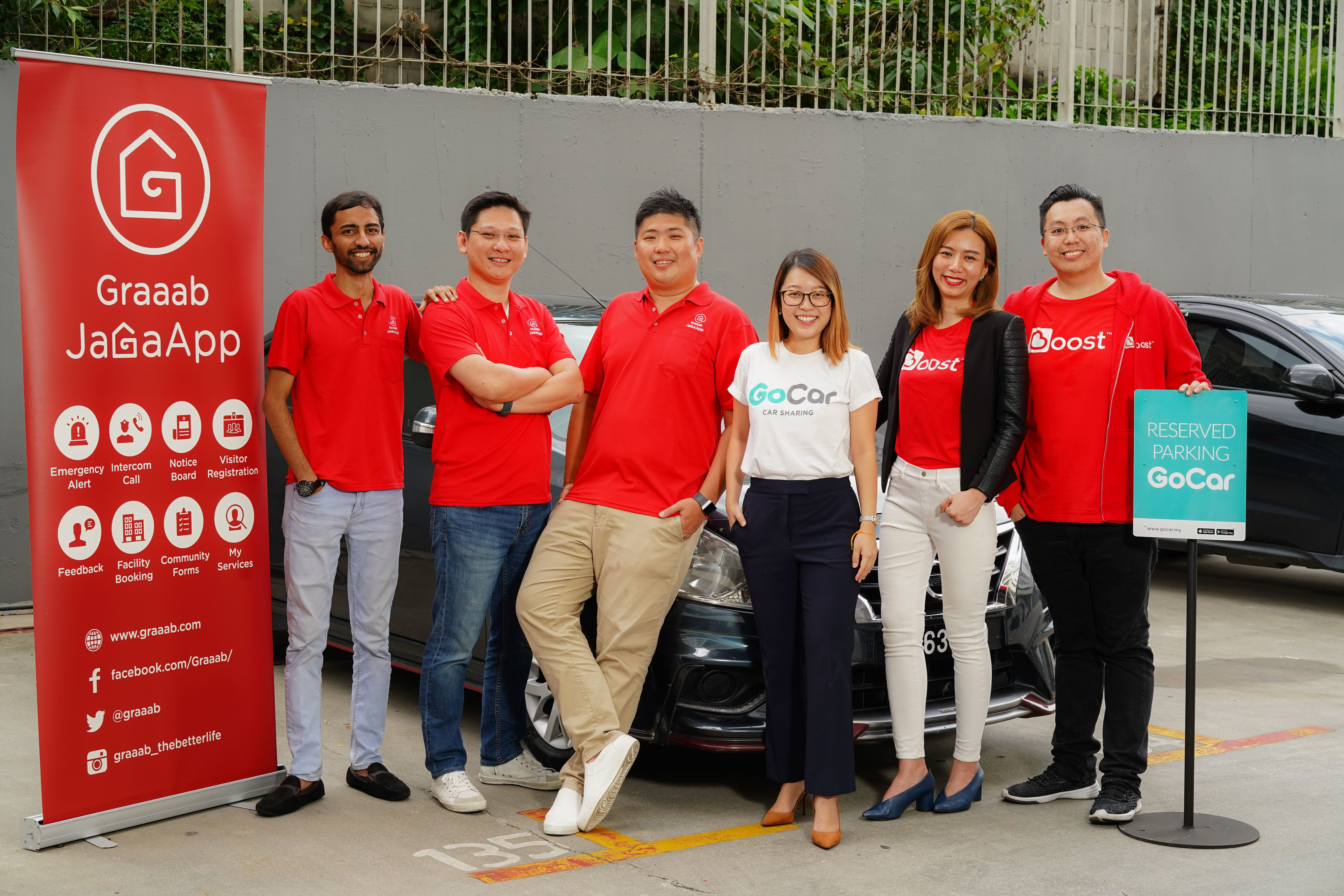 Red Ideas partners GoCar, Boost to provide more community services