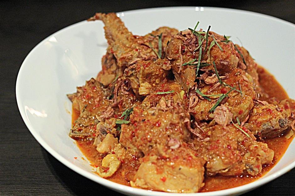 Chua's supper club Curry Kapitan