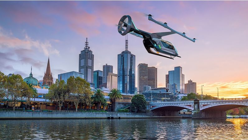 Uber names Melbourne as first non-US city for flying car