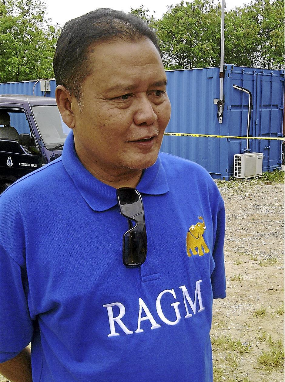 RAGM director Datuk Azinuddin Abdul Rahim