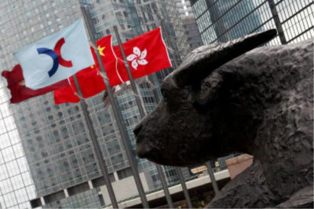 China, HK stocks track Asian market rally on US rate-cut