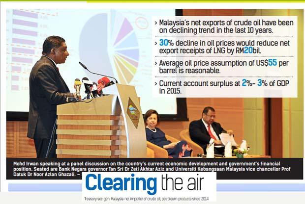 Govt reveals M'sia net importer of crude oil, petroleum products