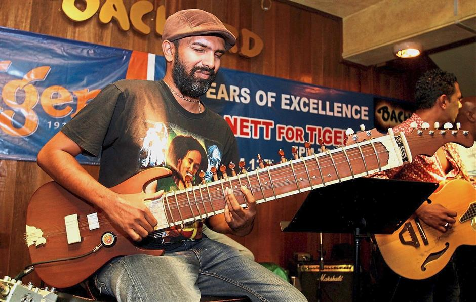 Kalai breaks out the sitar as he jams with the Pandavas in Hangover every Wednesday.