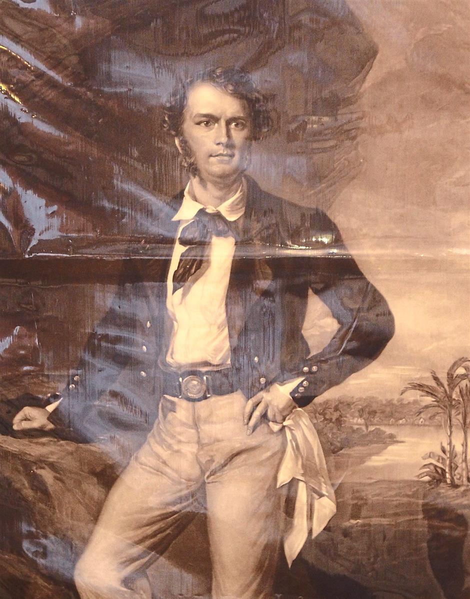 Explorer: James Brooke sailed to Sarawak in 1839.
