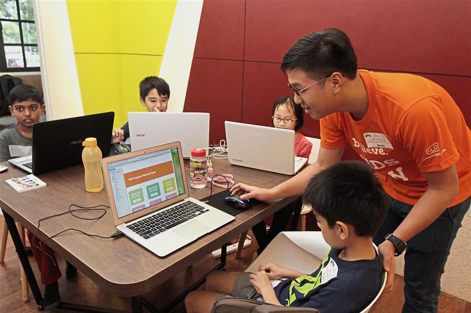 Classes on creative computing, mobile app development and web designing will start at Penang Digital Library this Sunday.