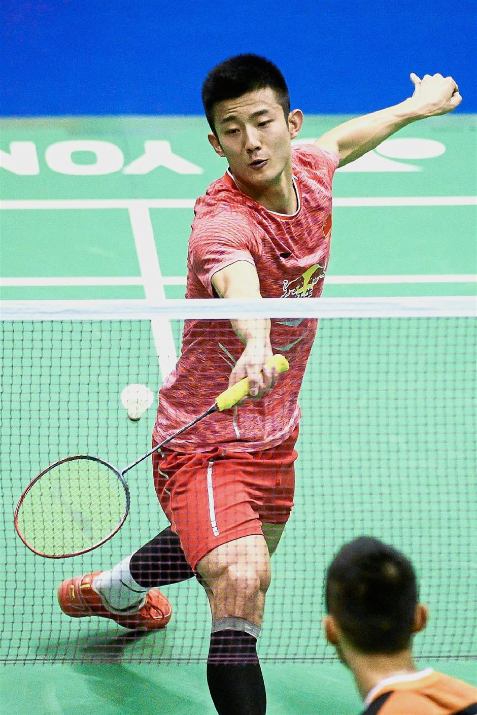 Missing champion: Olympic gold medallist Chen Long has pulled out the World Superseries Finals in Dubai due to a knee injury.