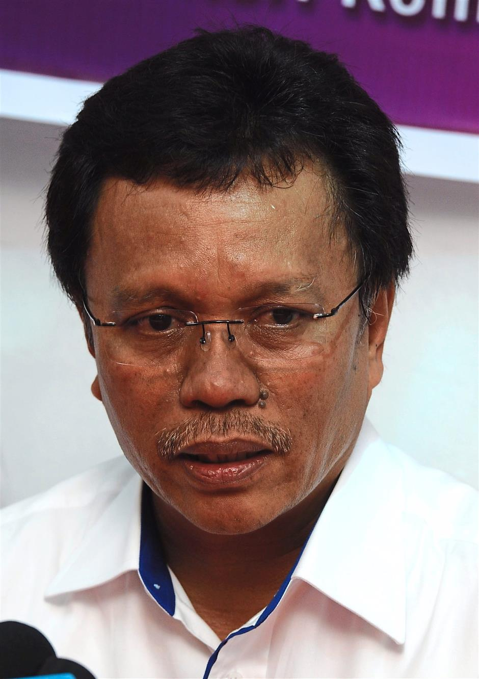 """Shafie: """"Why should I quit for raising issues?"""""""