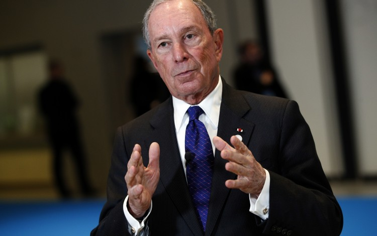 Former NYC mayor Bloomberg giving Johns Hopkins US$1 8bil