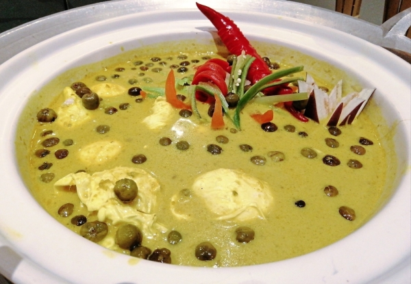One of the more unique dishes is Telur Itik Masak Lemak, a Negri Sembilan speciality.