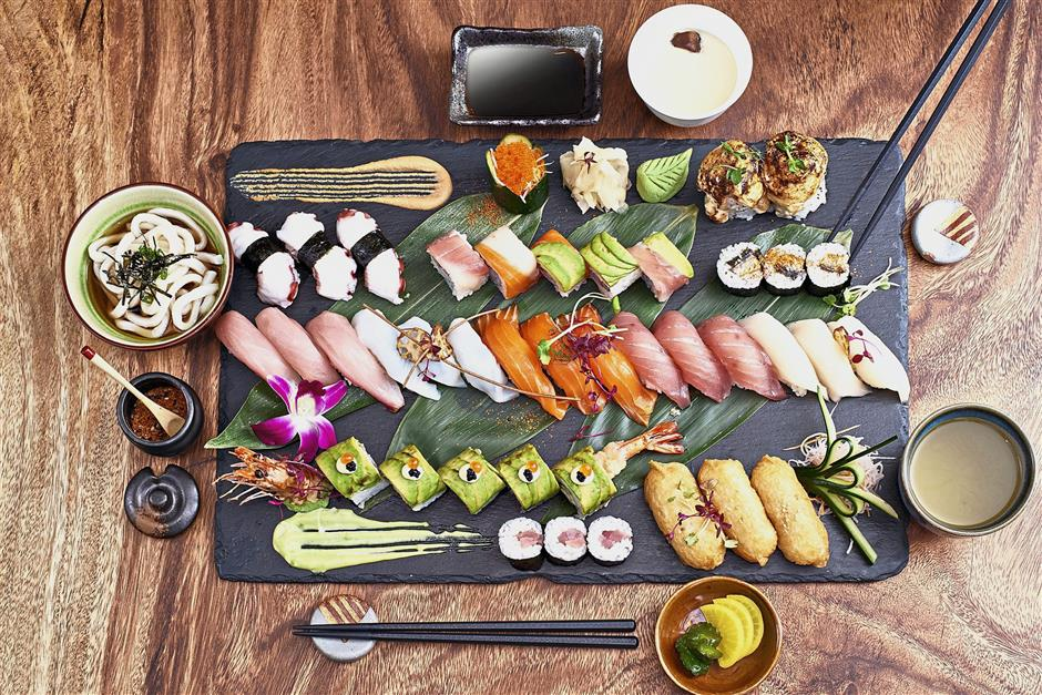 Enju at Pullman Kuala Lumpur City Centre Hotel & Residences is inviting sushi lovers to enjoy its All-You-Can-Eat Sushi buffet. The sushi dinner is priced at RM88 nett per person.