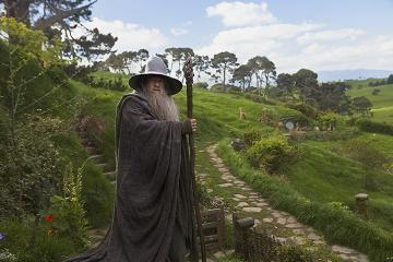 Ian McKellen returns for a leading role as the wispy-haired, grey bearded wizard, Gandalf.