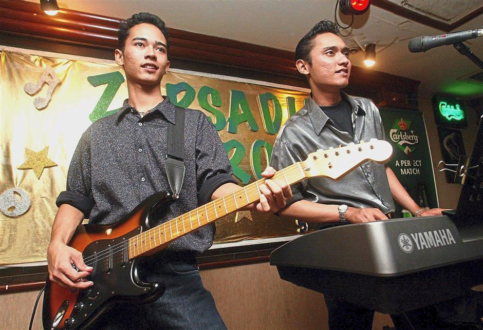 The Zarsaridias Brothers bring some good old-fashioned rocknroll to Hangover in Petaling Jaya on Monday nights.