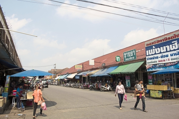 Phitsanulok in February ahead of the elections, was calm. It was clear to everyone that the polls were a farce.