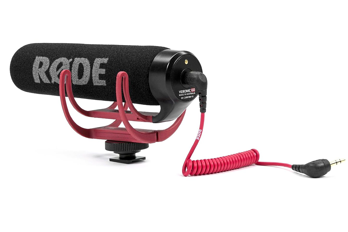 Upgrade your audio: the Rode VideoMic Go is an easy and relatively cheap way of upgrading the quality of your videos