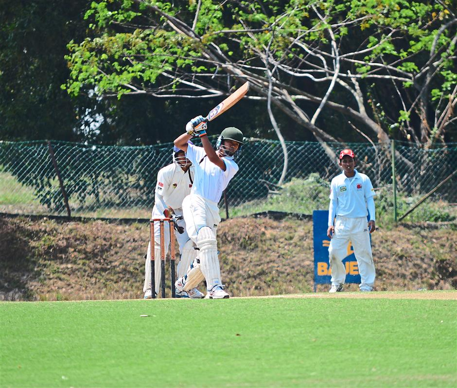 Brimming with excitement: The action was plentiful in the Bauer Under-19 tournament and enjoyed in equal measure by the players and spectators.