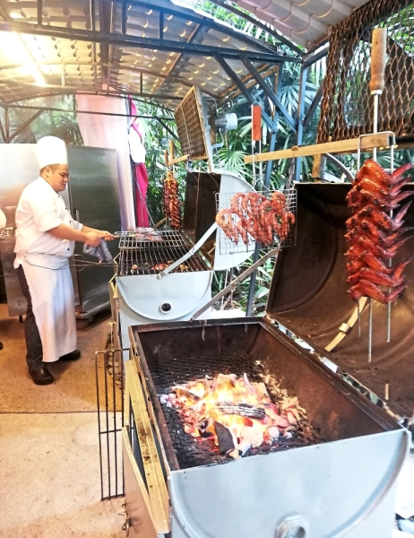 Key highlights at Lemon Garden's Ramadan buffet promotion are the barbecue corner and action stations.