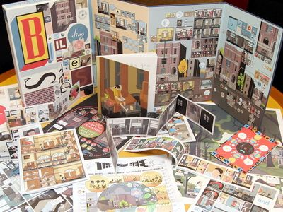 Treasure trove: Chris Wareu2019s Building Stories is a u2018graphic novelu2019 unlike any other. It consists of 14 u2018distinctively discrete books, booklets, magazines, newspapers and pamphletsu2019 packaged in a large, beautifully-designed box.