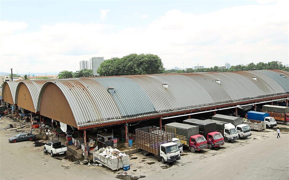 The site: Pasar Borong Selayang in Kuala Lumpur.