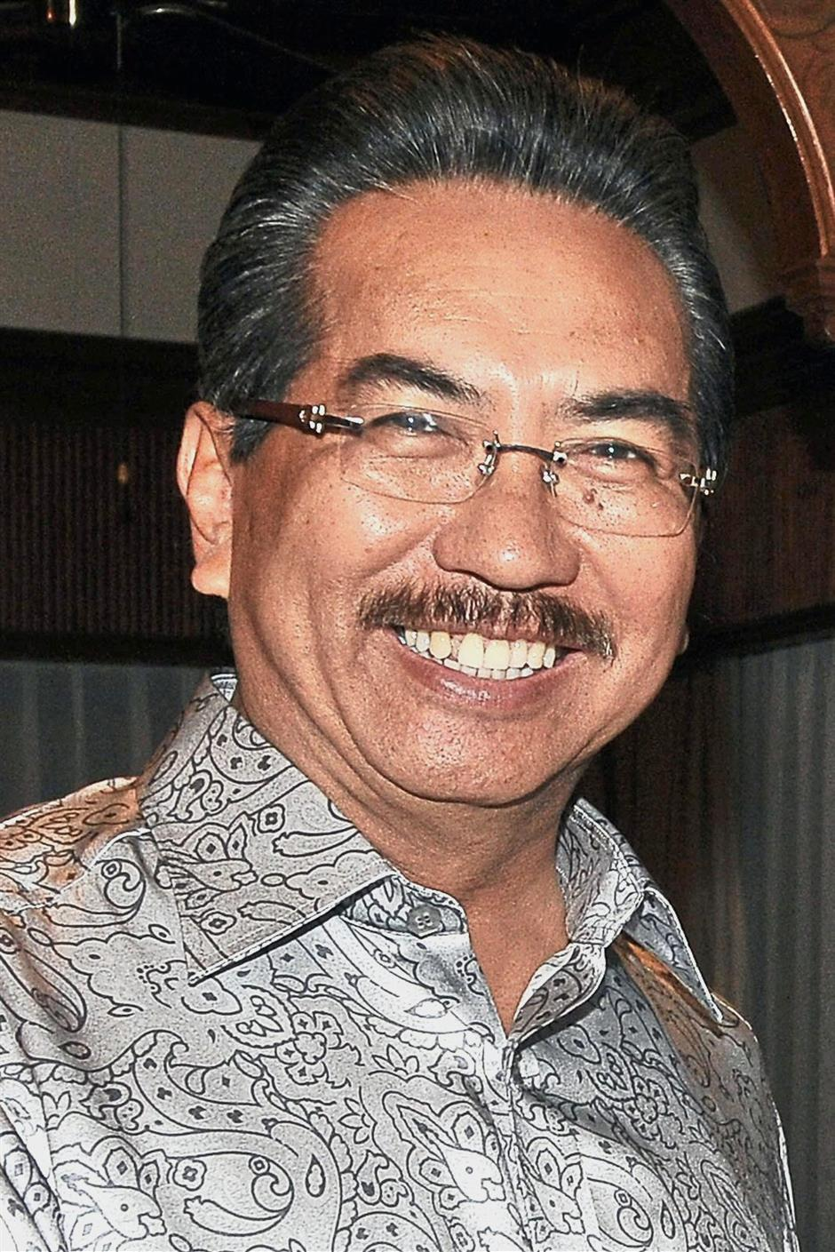Musa: Seems confident in the face of Warisan threat.