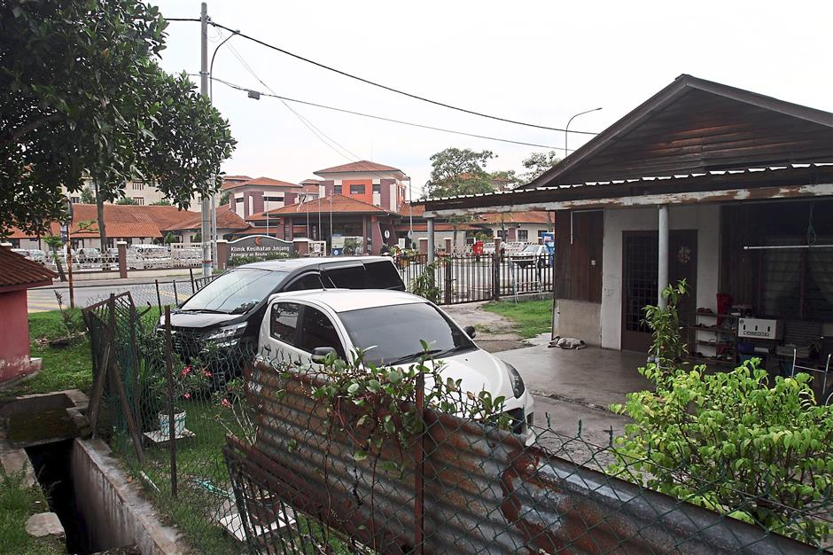 Phasing out: The original wooden houses are no longer common in Kampung Baru Jinjang.