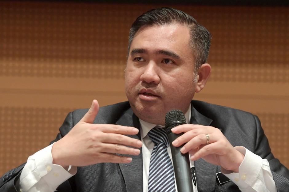 Transport Minister Anthony Loke. u2013 Bernama