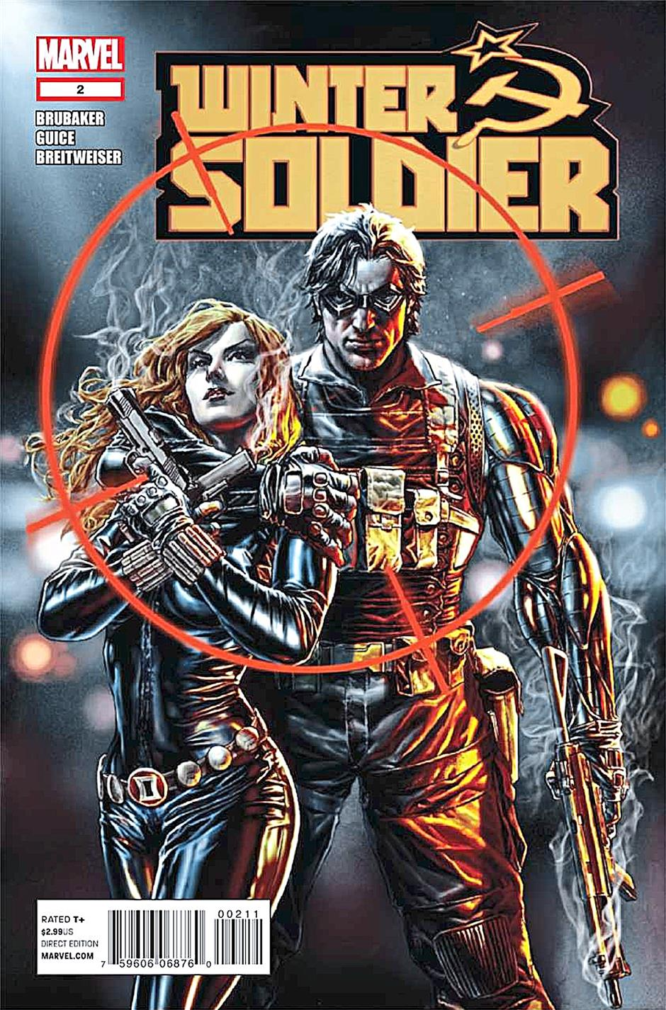 Winter Soldier and Natasha Romanov shared more than missions during their time together as Russian agents.