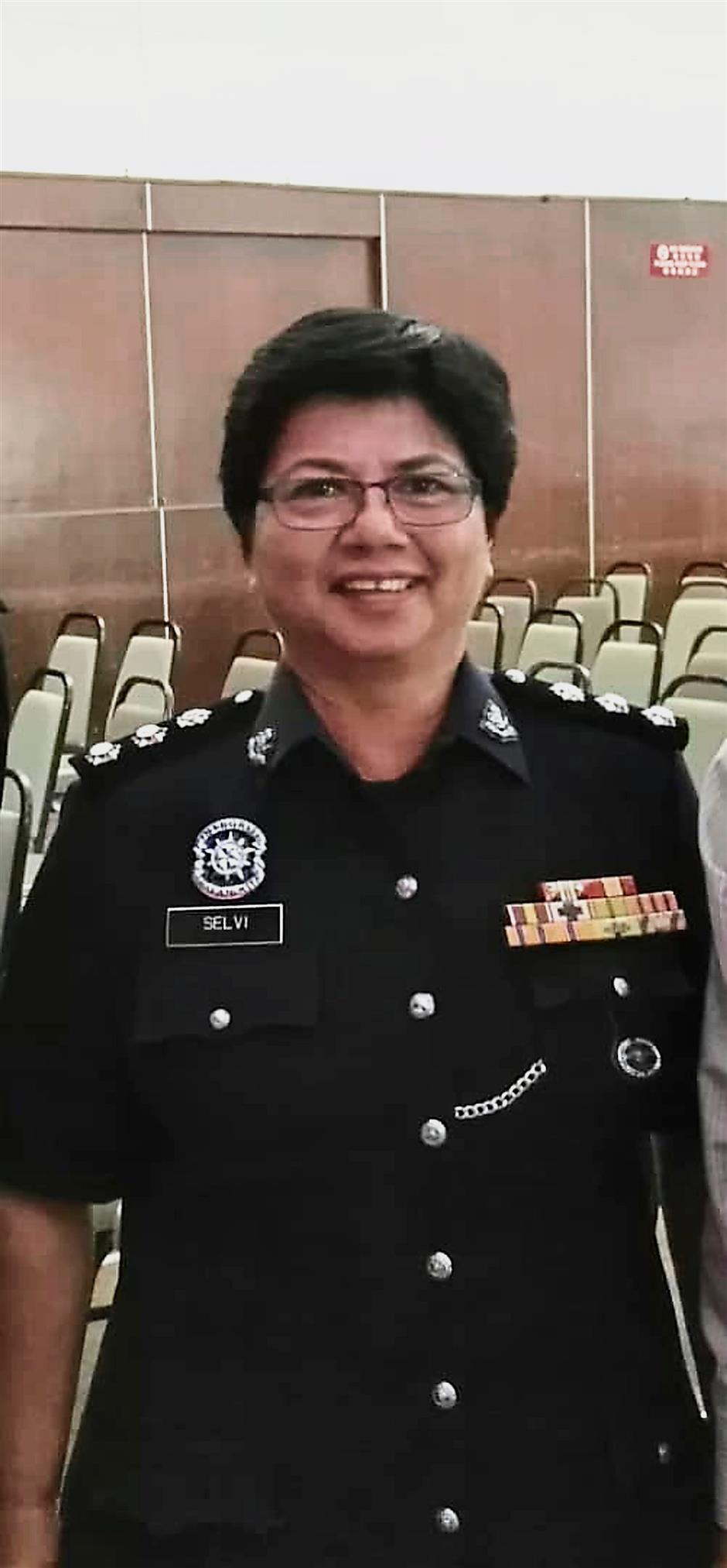 ASP Selvi Muthayah is among those receiving the PJK award.
