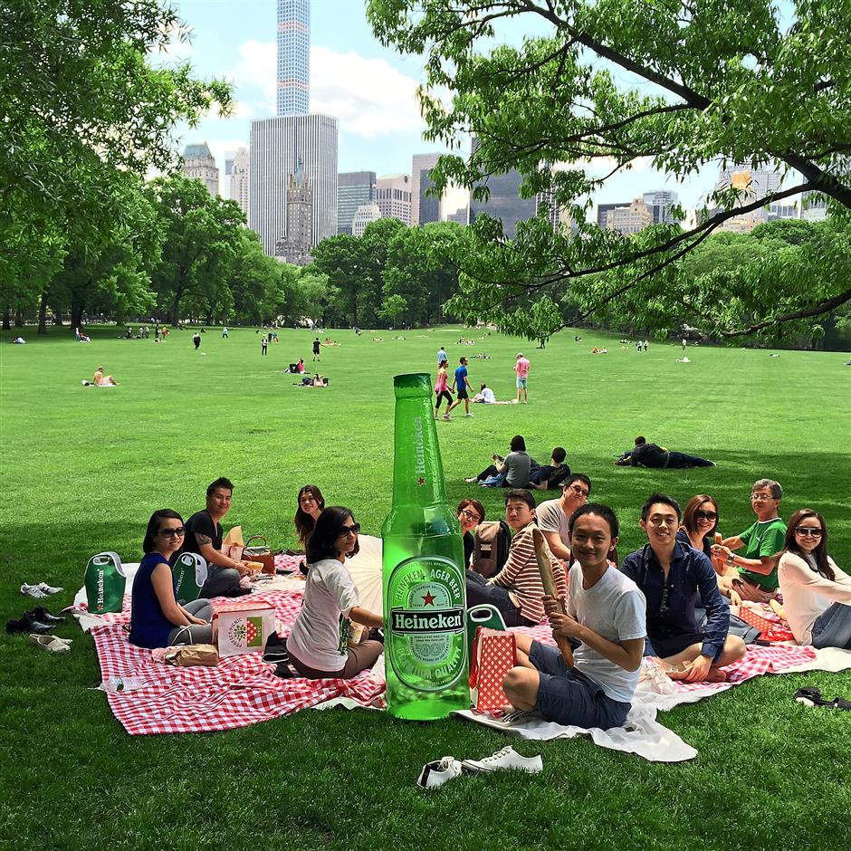Five lucky Malaysians go on an adventure in the Big Apple